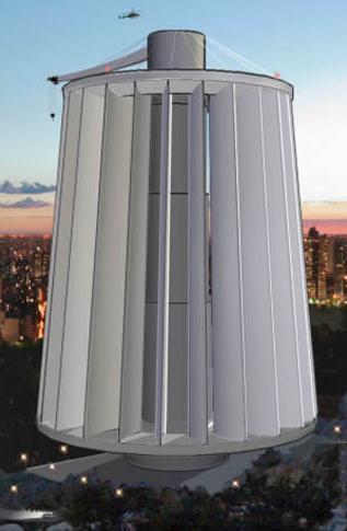 Maglev Turbine – ветрогенератор на магнитной подвеске