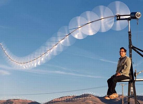 Sky Serpent – ветрогенератор в форме воздушного змея