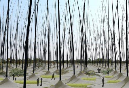 Ветропарк «Windstalk» в Арабских Эмиратах